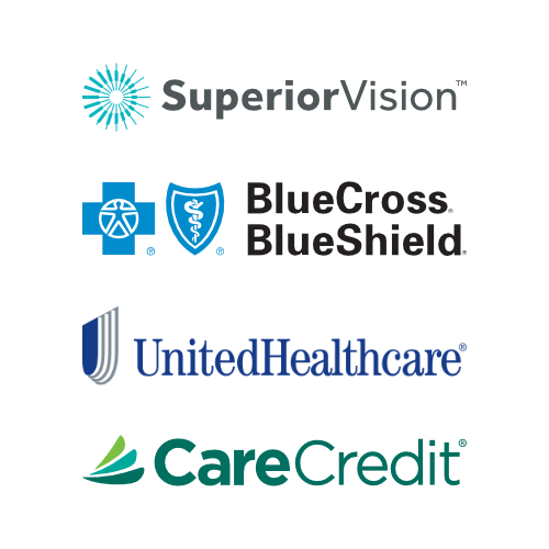 Wadley EyeCare accepts BCBS, Superior Vision, United Healthcare, CareCredit, Medicare, and some other out-of-network insurance.